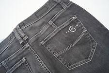 CAMBIO Jeans Jani Damen Women Hose stretch Gr.36 stone wash dunkelgrau TOP #97