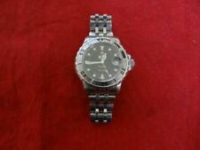 Authentic Rolex Tudor Prince Tiger 89190 Black Dial Date Watch
