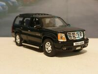 NEW BOYS TOYS CADILLAC ESCALADE 2002 -BLACK 1.38 DIECAST MODEL CAR PRESENT GIFT