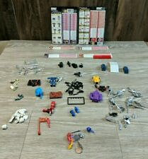 Huge Lot Vintage 1980's Generation G1 Transformers Weapons Parts Accessories