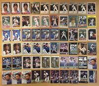 Roberto Alomar (64) Cards With Many Rookies Including 1988 Score Traded #105T