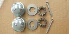 Opel Kadett C Manta Ascona Chevette Hub Nut Pin Set New