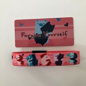 Zox Strap - FORGIVE YOURSELF #2714 Limited Edition, New, Never Worn