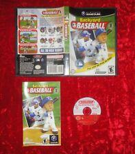 BACKYARD BASEBALL (2003) for Nintendo Gamecube *COMPLETE*