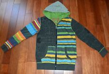 Superbe gilet sweat capuche multicolore DESIGUAL 11 - 12 ans TTBE