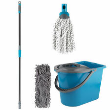 Beldray COMBO-5573 Click and Connect Set with Microfibre/Chenille Mops & Bucket