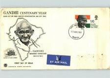 Mahatma GANDHI, India Leader, 1969 Centenary Year, Airmail, First Day of Issue B