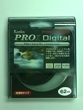Genuine Kenko PRO1 Digital PRO ND4 (W) 62mm Filter