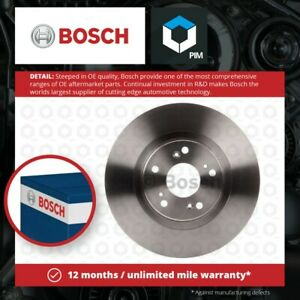 2x Brake Discs Pair Vented fits HONDA CR-V RD9 2.2D Front 05 to 06 N22A2 300mm