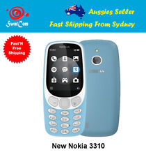 Nokia 3310 3G (2017) - Azure Aussie Factory Unlocked Stock with FM Radio- Blue