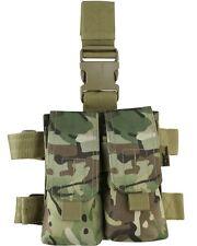 KOMBAT M4 DOUBLE MAG DROP LEG HOLSTER BTP MTP
