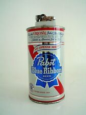 Vintage Pabst Blue Ribbon Beer Can Lighter Pbr