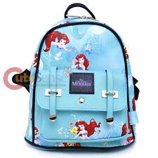 Disney Princess Ariel Mermaid Mini Backpack All Over Prints Bag