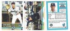 2017 EVERETT AQUASOX TEAM SET COMPLETE MINOR LGE SS SEATTLE MARINERS