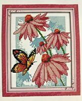 Mariposa Mini Cross Stitch Kit por Luca S B004