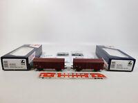 CM242-0,5# 2x Lima H0/DC HL6031 Güterwagen 100 2166-9 DR NEM KKK, NEUW+OVP