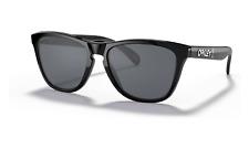 Oakley Frogskins gafas de sol OO9245-B554 Negro Pulido con ajuste Prizm Gris Asia