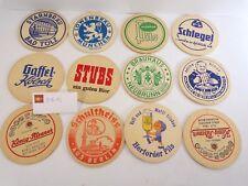 Lot de 12 Sous-bocks anciens allemands, tbe - * sb12