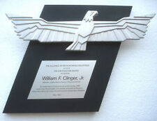 The AMI Freedom Award Presented to Congressman William F. Clinger, Jr. (R-PA)