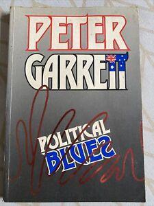 Political Blues; by Peter Garrett - 1987 Paperback Book. Midnight Oil
