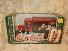 Coca-Cola Ertl Die Cast Metal Christmas 1931 DELIVERY TRUCK Bank -NIB