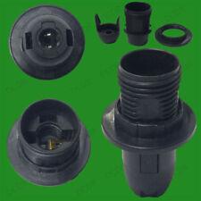 Lámparas de interior de plástico de color principal negro