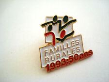PINS FAMILLES RURALES 1993 50 ANS