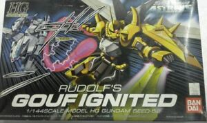 HG 1/144 SCALE GOUF IGNITED RUDOLF'S #52 MODEL KIT OPENED ITEM PSY MISSING STAND