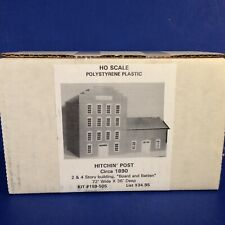 BH Models HO Scale HITCHIN' POST 2 & 4 STORY BUILDING Kit 159-505 NEW!