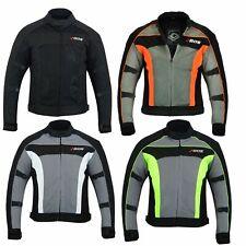 Motorrad Textil Jacke Motorrad Roller Quad Jacke Motorrad Sommer Jacke Gr S-5XL