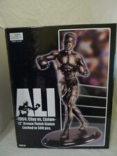 "Neca 12"" Mohammed Ali le 500 CASSIUS CLAY vs LISTON Finition Bronze Statue BN"