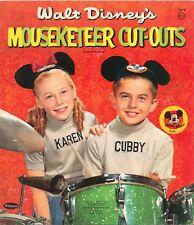 Vintge Uncut 1957 Mouseketeer Cub Karen Paper Doll Lasr Reproductin No1 Free Sh