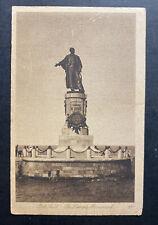 1914 Port Said Egypt RPPC Postcard Cover to Iran Algeria Lesseps Statue