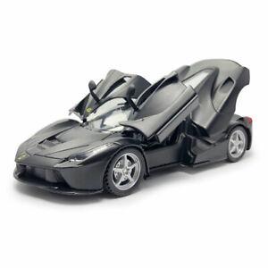 Ferrari LaFerrari Supercar 1:32 Model Car Diecast Toy Vehicle Kids Black Sound