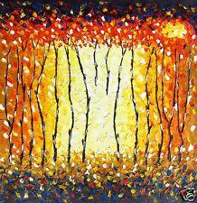huge Aussie Landscape original Art Painting  Canavs 100cm by 100cm By Jane