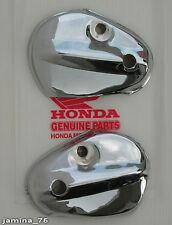 Honda Super Cub C50 C65 C70 Passport C90 Chrome Front Fork Steel Cover Pair