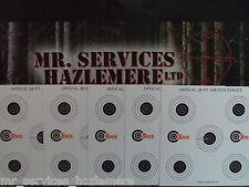 25 x AIR RIFLE CARD 17 X 17cm SMK CARD MULTI TARGET + FREE UK POSTAGE..