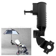 Adjustable Golf Umbrella Holder Fit Most Golf Club Carts Clamp Mechanism Easily