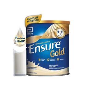 Abbott Ensure Gold Complete Nutrition Milk Powder Vanilla / Wheat / Coffee *850g