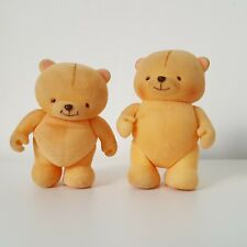 Vintage Forever Friends Bear Figures x 2 Small Toys Collectible