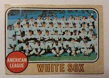 1968 Topps White Sox Team card #424
