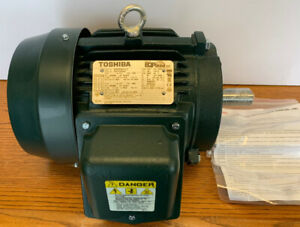 TOSHIBA 0034SDSR41A-P EQP GLOBAL SD MOTOR, 3 HP, 1,800 RPM, 182T FRAME, NEW!