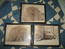THREE (3) AWESOME VINTAGE WINTER PICTURES FROM MID-MICHGAN-RE-PINNED-SECURE-8X10