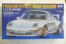 TAMIYA 1:24 KIT AUTO PORSCHE 911 GT2 VERSIONE STRADALE CLUB SPORT  ART 24247