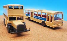 Wiking Models vintage1:87 scale #700/19 Mercedes AND #373 Berliner Bus 2 Pack!!!