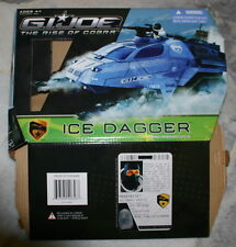 G.I. Joe Rise of Cobra ICE DAGGER with Frostbite 2009 Hasbro Used Complete