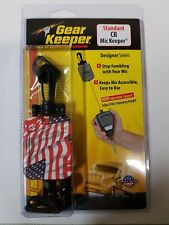"Gear Keeper Flag Stars n Stripes RT2-4212 28"" Retractable CB Microphone Hanger"