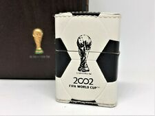 ZIPPO Limited Edition 2002 FIFA World Cup Korea Japan Leather Trophy Lighter