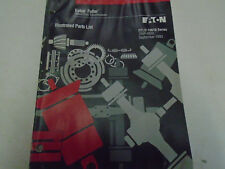 1996 Eaton Fuller RTLO-16618 Series Transmissions Parts Catalog OEM Used Book **