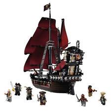 Queen Anne's Revenge Pirates of Caribbean Black Beard Building Kids Toys